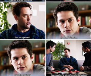funny, teen wolf, and scott mccall image