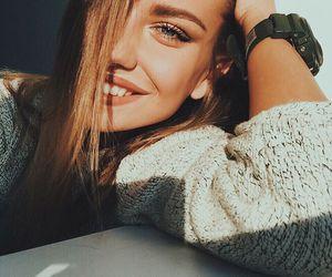 blonde, model, and blue eyes image
