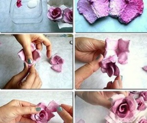 diy, flowers, and roses image
