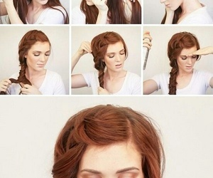 diy, hair, and hairstyles image