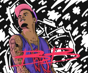 art, chris brown, and fashion image