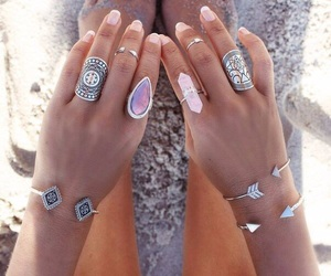 rings, summer, and jewelry image