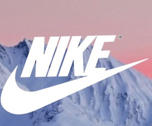 nike and mountains image
