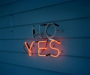 yes, no, and light image