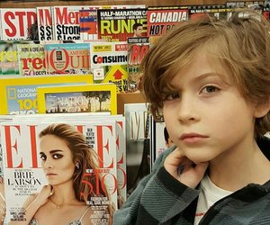brie larson and jacob tremblay image