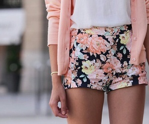 fashion, flowers, and pink image
