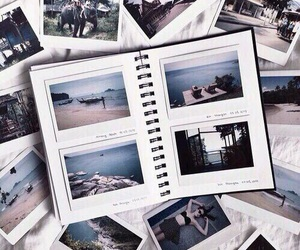 beach, decoration, and grey image