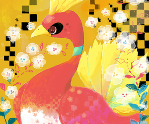 pokemon and ho-oh image