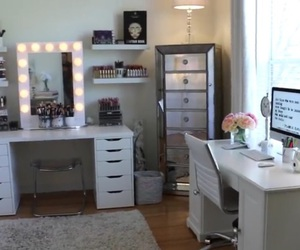 beauty, bedroom, and closet image