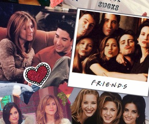 1990's, friendship, and monica geller image