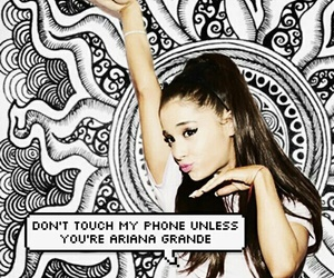 ariana grande and lockscreen image