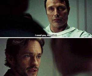 hannibal, hugh dancy, and quotes image
