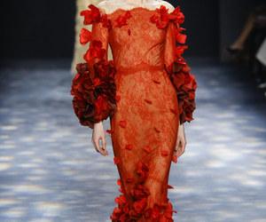 fashion, Marchesa, and model image
