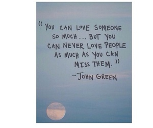 quote, love, and john green image