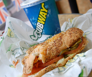 subway, food, and delicious image