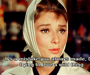 Breakfast at Tiffany's, film, and holly golightly image