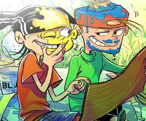 Boys Love, cartoon, and ed edd and eddy image