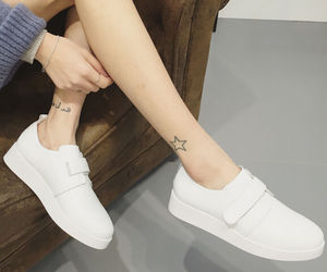 fashion womans shoes and womans white shoes image
