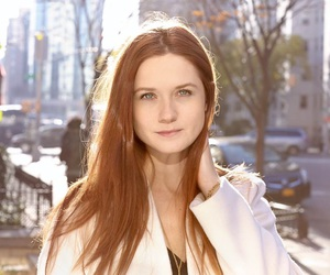 bonnie wright, ginger, and cute image