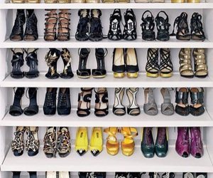 closet, high heels, and luxury image