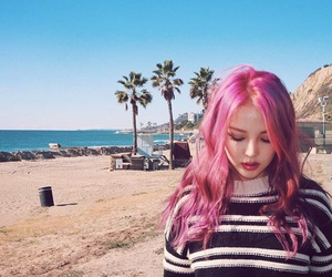 pony, ulzzang, and beach image