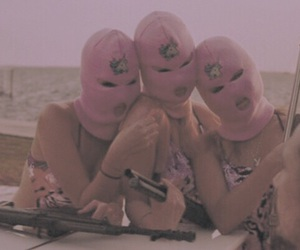 grunge, robber, and pink image