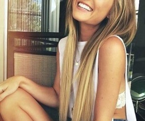 beauty, blondehair, and blonde image