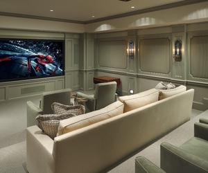 luxury, cinema, and house image