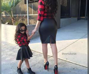 fashion, daughter, and family image