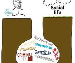 criminal minds, glee, and gossip girl image
