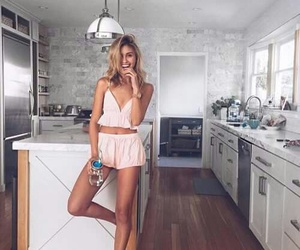 kitchen, house, and outfit image