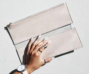 designer, nails, and wallet image