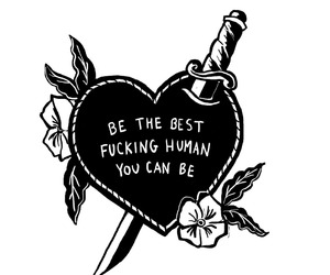 heart, human, and quotes image
