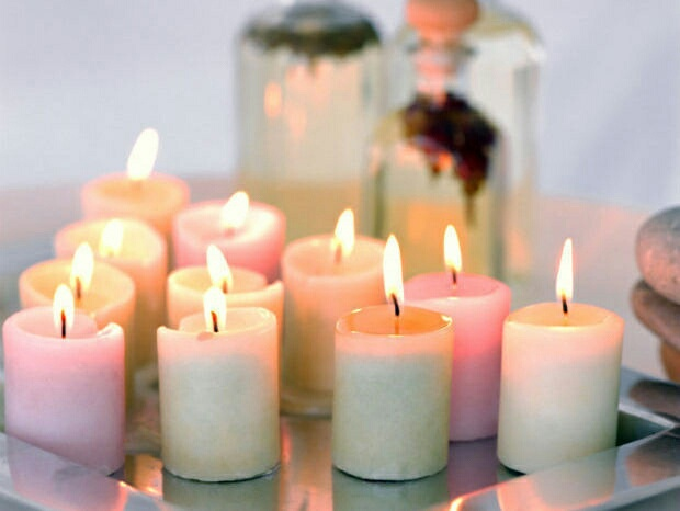 Image de cocooning, candle, and home