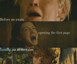 exam and game of thrones image