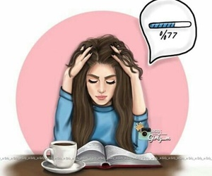 book, girly_m, and study image