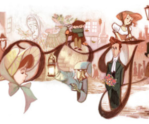 charles dickens, google, and lovely image