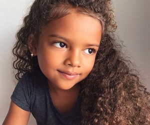beautiful, kids, and curly hair image