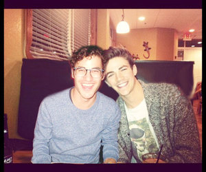 gay, darren criss, and grant gustin image