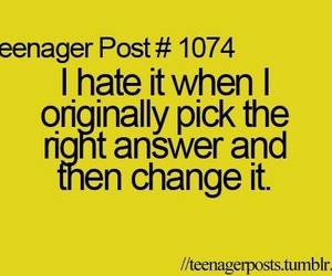 teenager post, school, and answer image