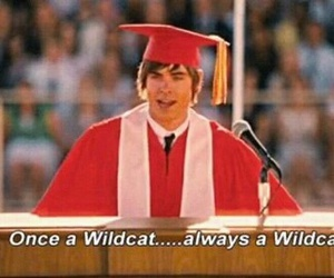 wildcats, zac efron, and HSM image