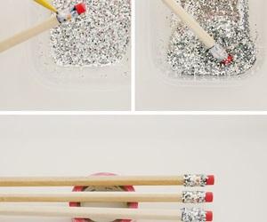 diy, pencil, and school image