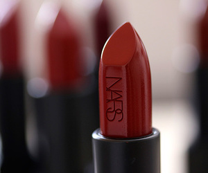 lipstick, nars, and cosmetics image