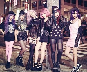 girl, pastel goth, and style image