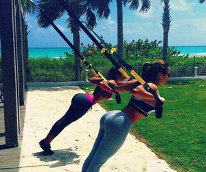 beach, butts, and healthy image