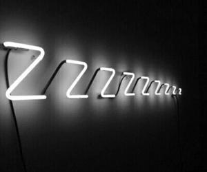 sleep, light, and neon image