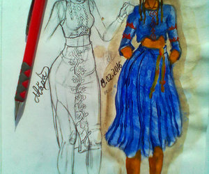 amazing, creative, and dress image