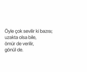 özlem, yol, and türkçe sözler. aşk image