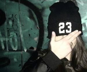 23, bad girl, and green image