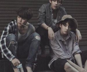 grunge, park jimin, and bts taehyung image